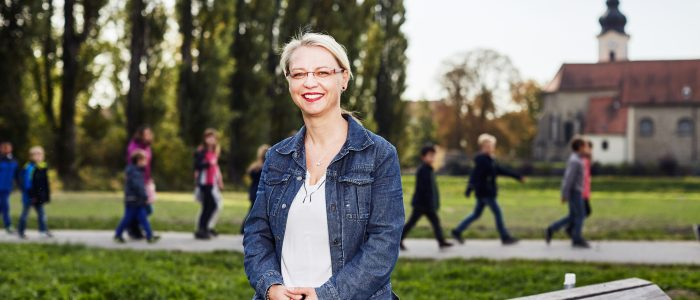Bürgermeisterin Marion Török