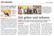 Artikel der NÖN 2019/41 zur Zeitbank Zwentendorf