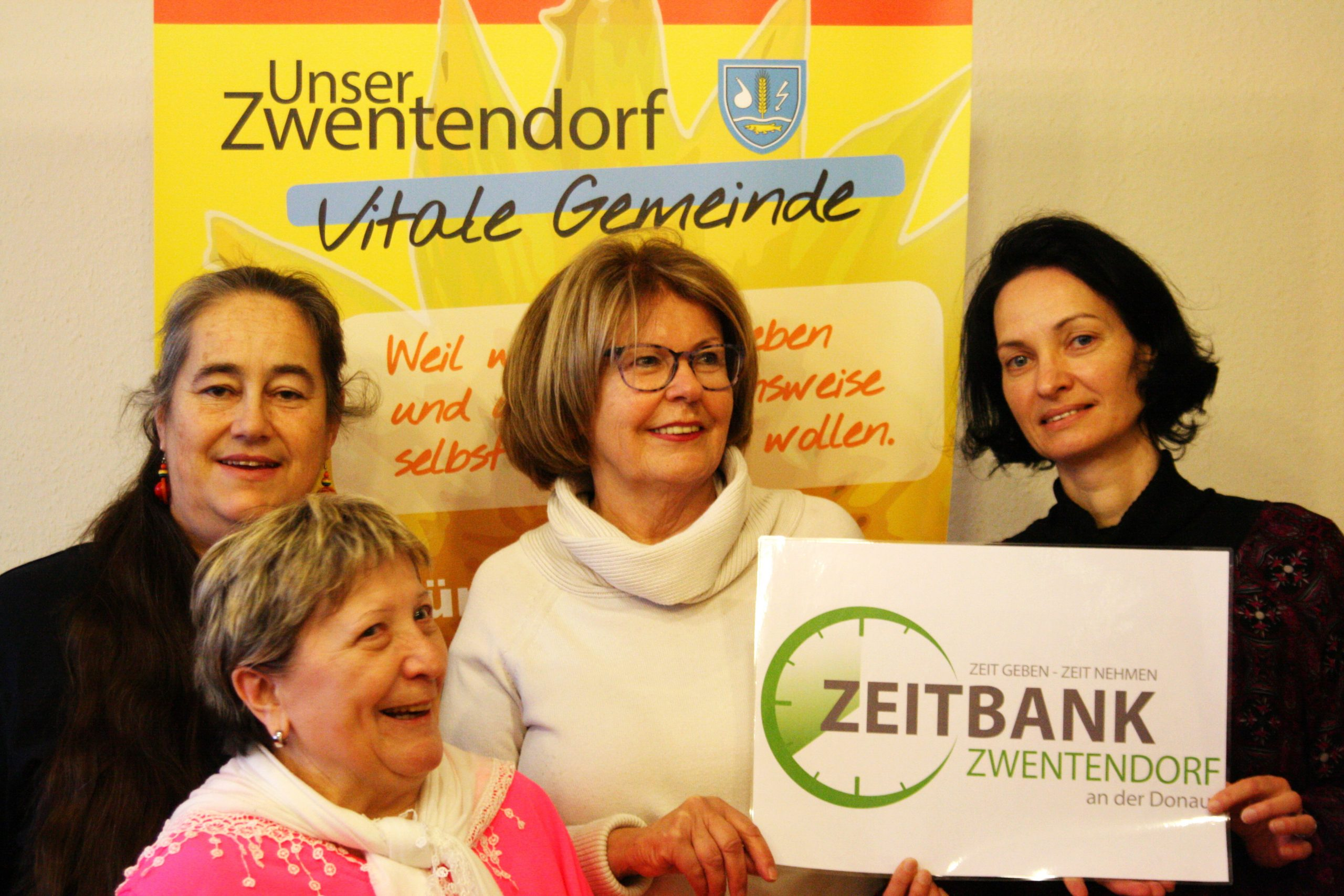 Projektteam Zeitbank Zwentendorf